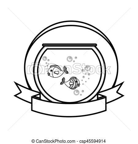 450x470 Fische Aquarium Clipart Vektor Grafiken. 2.631 Fische