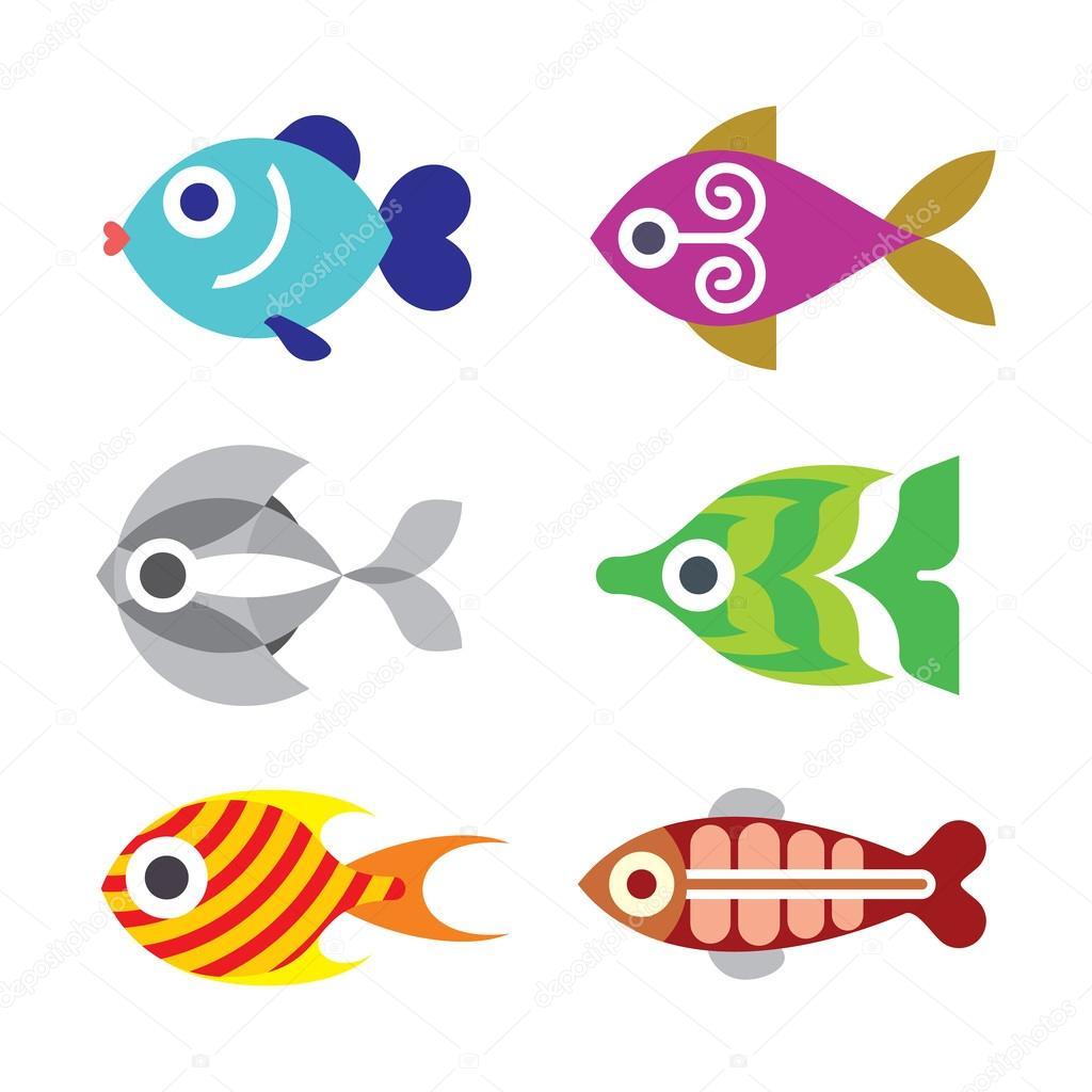 1024x1024 Fish Vector Clip Art Stock Vector Jazzia