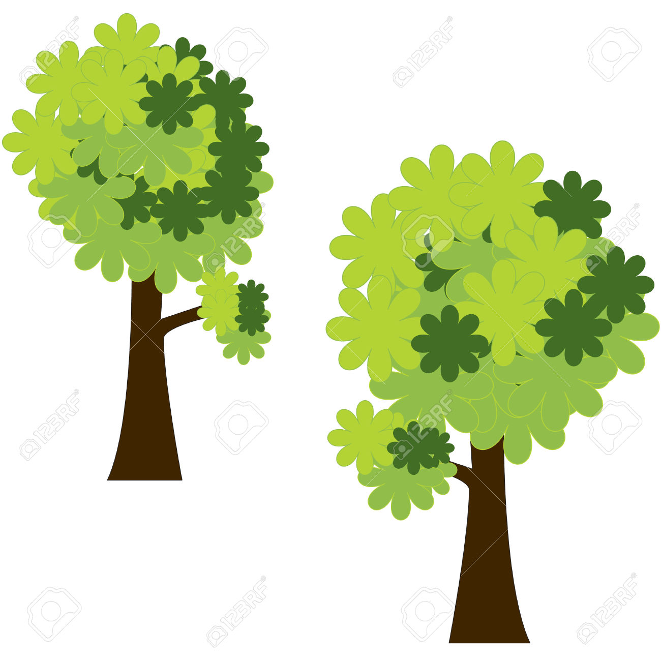 1300x1300 Tree clipart forest tree