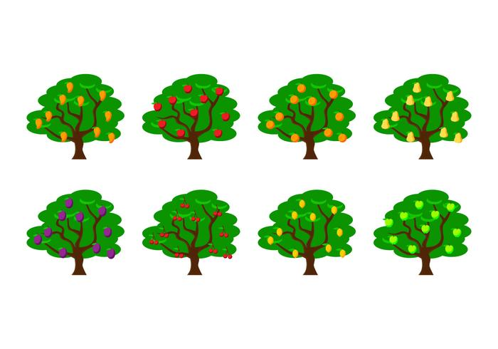700x490 Apple Tree Free Vector Art
