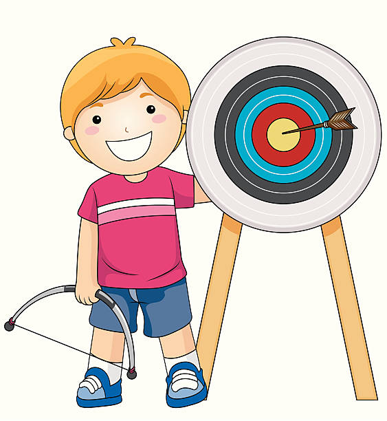 563x612 Kids Archery Clipart, Free Kids Archery Clipart