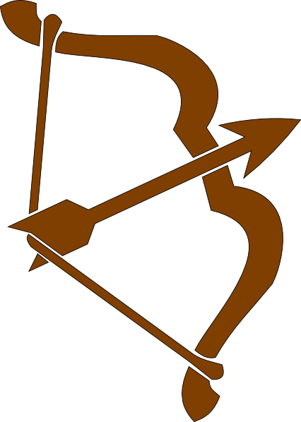 426x598 Archery Archer 1 Clip Art