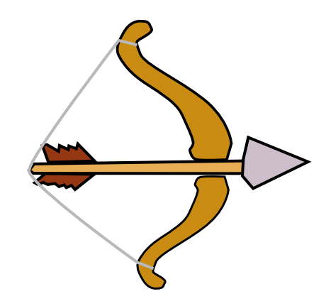 460x431 Arrow Clipart Archery Arrow