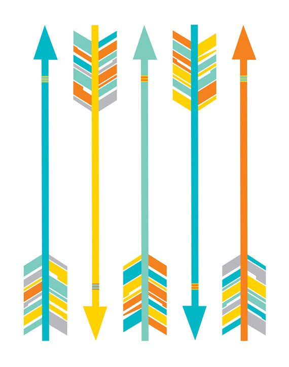 570x725 Arrow Clipart Artsy