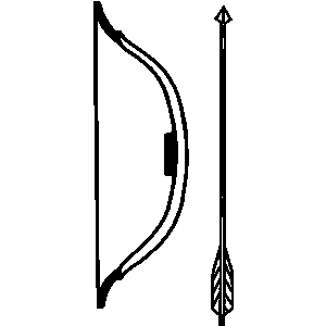 300x300 Hunting Clipart Archery