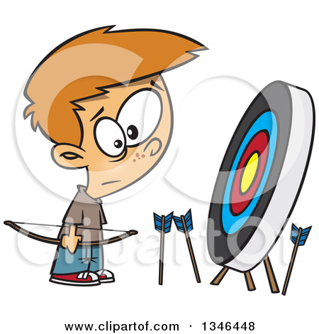 450x470 Archery Arrow Clipart