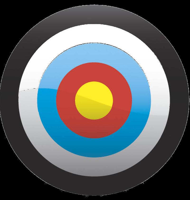 800x838 Archery Target Clipart