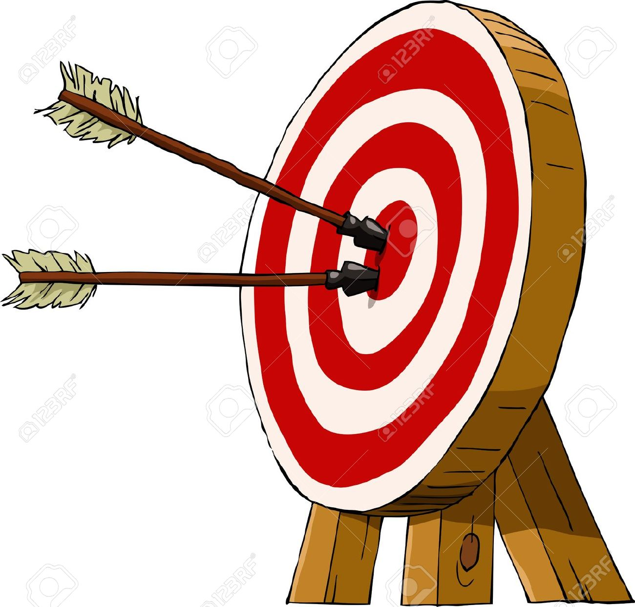 1300x1243 Bow And Arrow Target Clipart