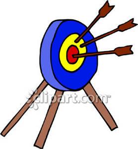 278x300 In An Archery Target