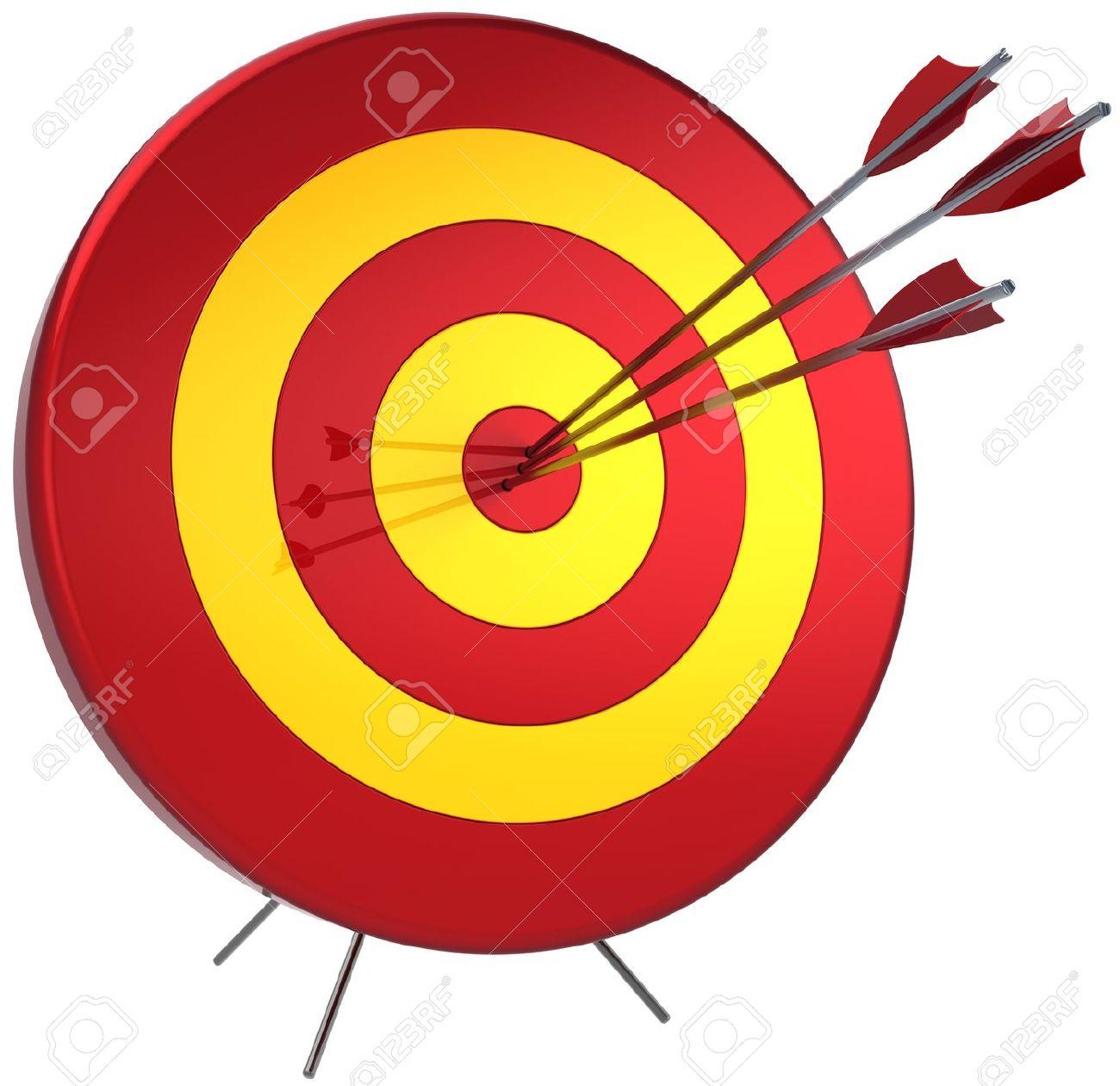 1300x1260 Sniper Clipart Arrow Target