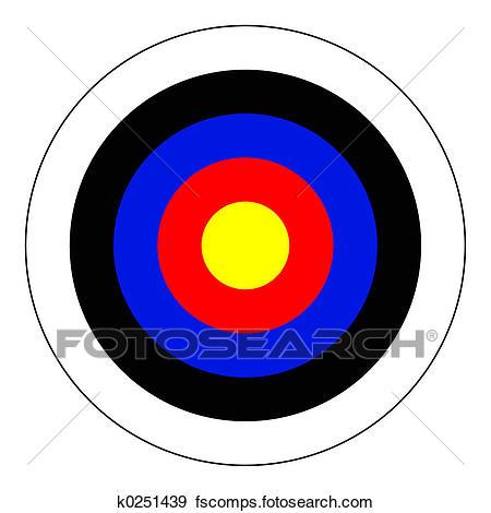 450x470 Stock Illustration Of Bullseye K0251439