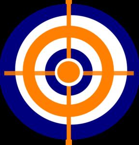 288x300 Target 1 Clip Art