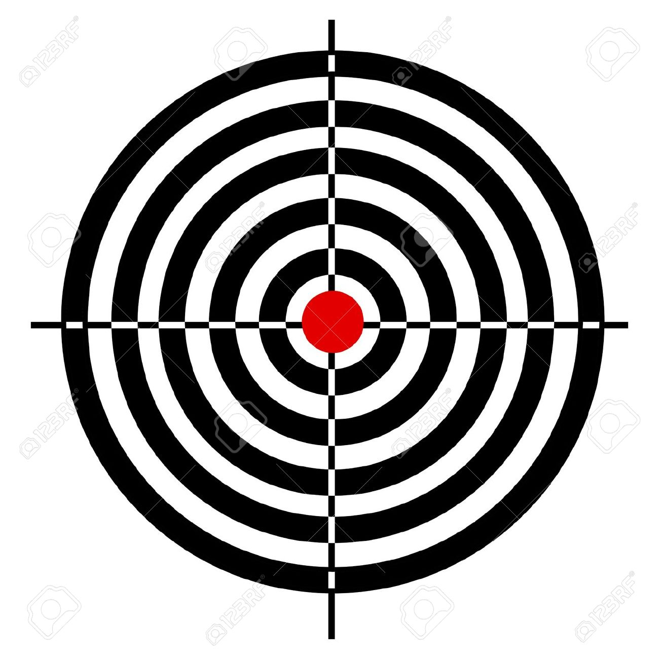 1300x1300 Target Clipart No Background