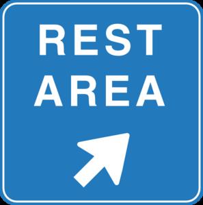 297x299 Rest Area Sign Clip Art
