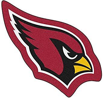 342x326 Fanmats Nfl Mascot Mat, Arizona Cardinals, Approx. 36x36 Amazon
