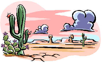 355x219 Free Arizona Desert Clipart