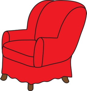 286x300 Arm Chair Clipart Image