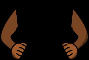 299x204 Monkey Arms Clip Art