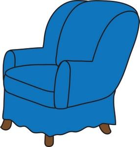 286x300 Arm Chair Clipart Image