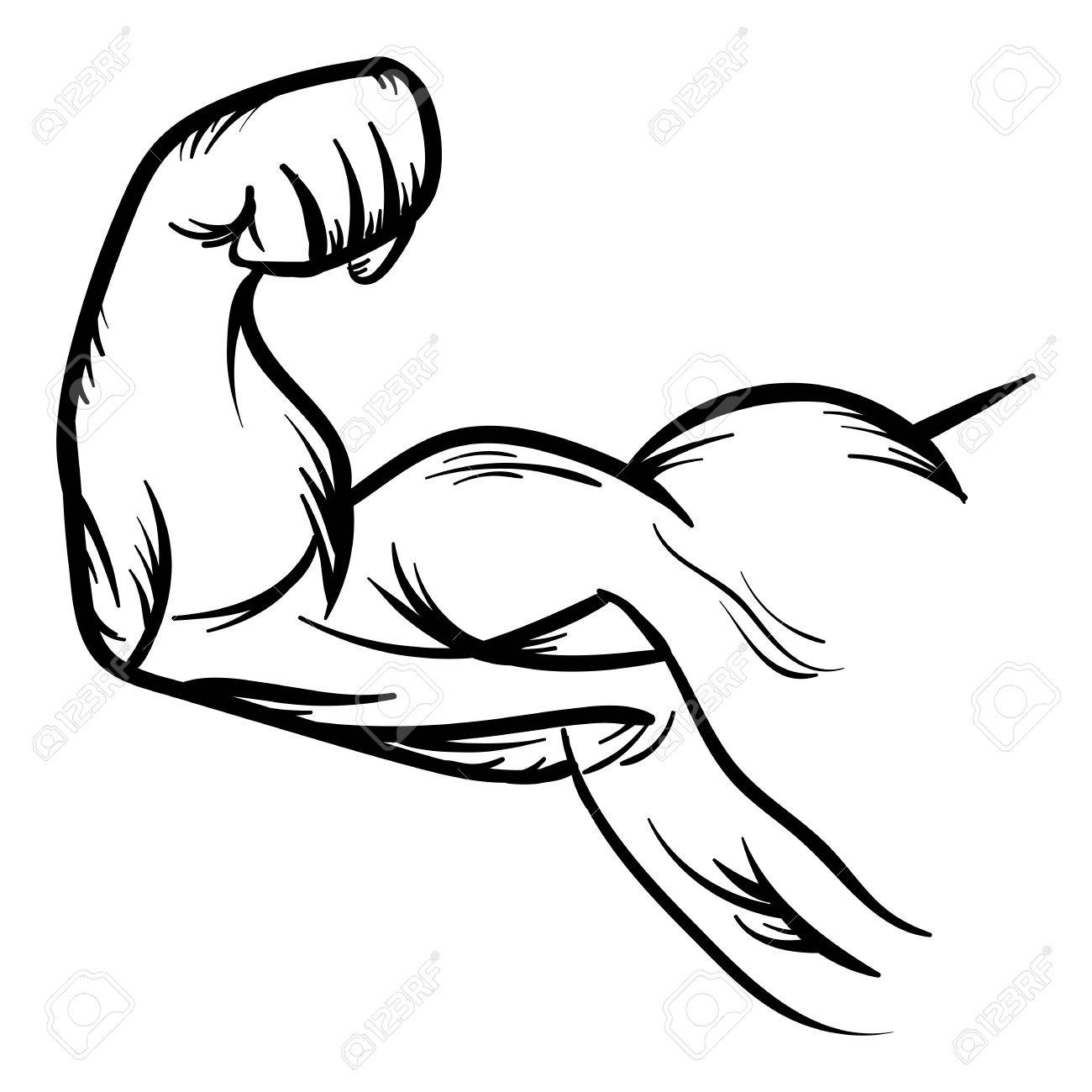 1300x1300 Strong Bodybuilder Biceps Flex Arm Vector Icon Strong Macho Biceps