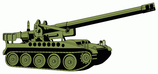 552x258 Army Tank Clipart