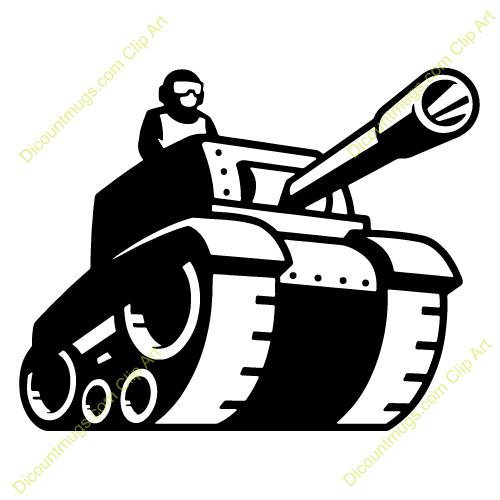 500x500 Army Clipart Ww1 Tank