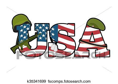 450x320 Clip Art Of Us Army Symbol. Military Emblem Of America. American