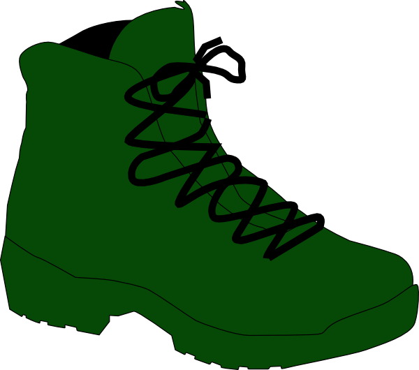 600x530 Army Boot Clip Art