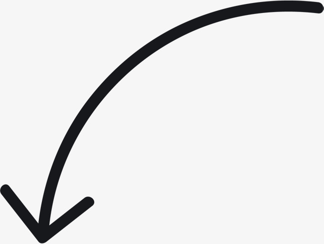 650x489 Curved Arrow Tool, One Way Arrow, Hand Drawn Arrow Png And Vector