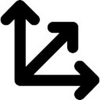 338x338 Triple Arrow Clip Art