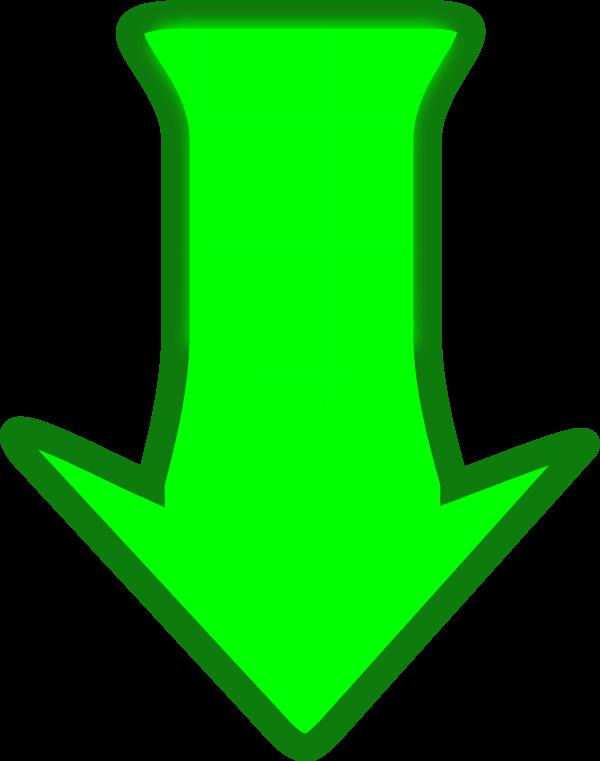 600x761 Down Arrow Arrow Pointing Down Downwards Cartoon Vector Clip Art