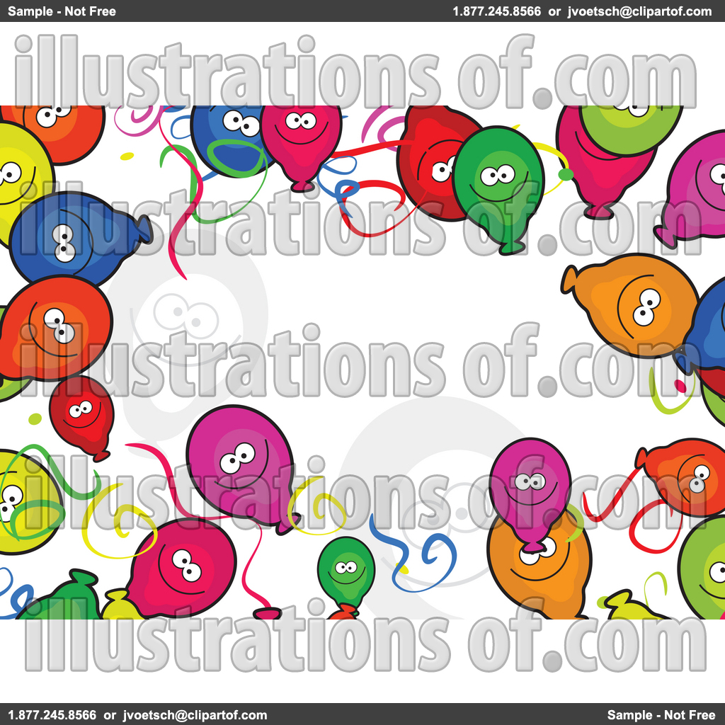 1024x1024 50th Birthday Border Clipart
