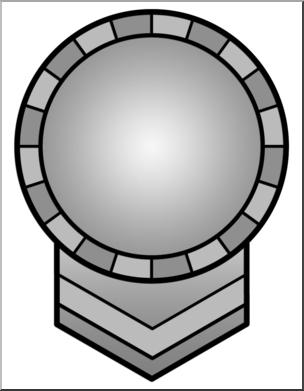 304x391 Clip Art Circle Award 1 Grayscale I Abcteach