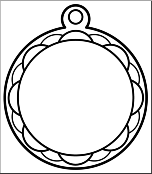 304x347 Clip Art Circle Award 2 Bampw I Abcteach