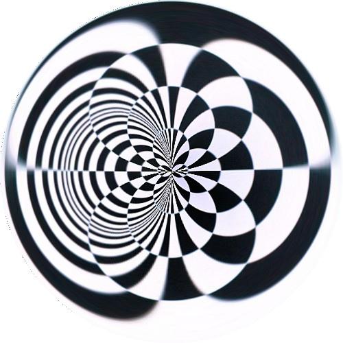 500x500 Op Art Circle Created