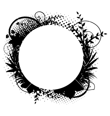 380x400 Circle Frame Vector Item 1 Vector Magz Free Download Vector