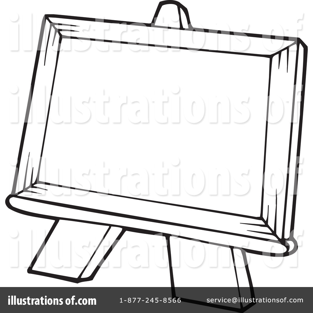 1024x1024 Easel Clipart