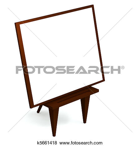 450x470 Poster Clipart Easel Stand