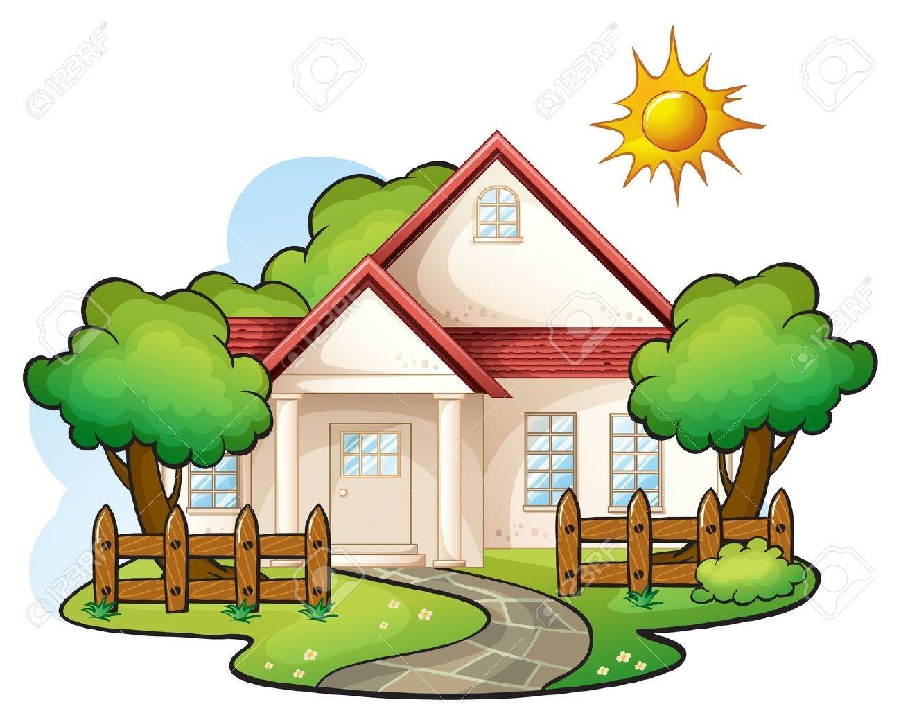 1300x1039 House Clipart