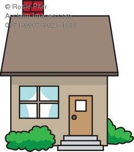 264x300 Little House Clipart