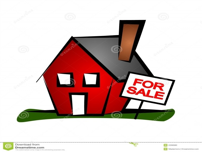 800x600 Real Estate Clip Art House 4 Stock Image