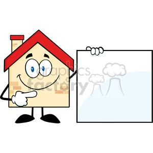 300x300 Royalty Free 6464 Royalty Free Clip Art House Cartoon Mascot