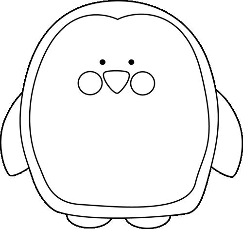 500x470 Penguin Clip Art