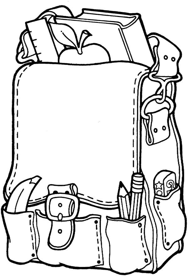 Art Supplies Coloring Pages Free Download Best Art