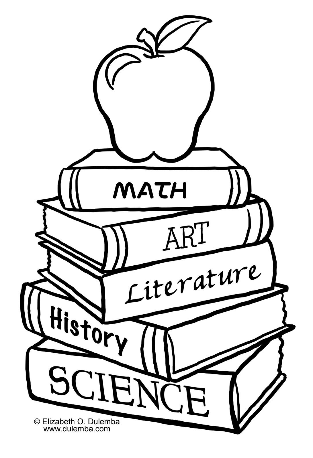 Art Supplies Coloring Pages | Free download best Art Supplies ...