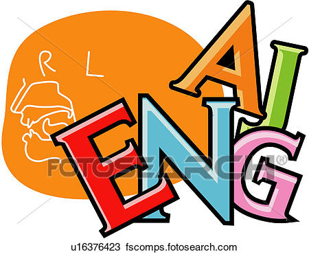 450x370 Clipart Of Icon, English, Character, Alphabet, Letter, English