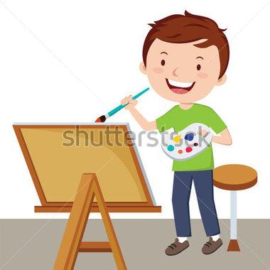 380x380 Boy Painting Clipart 20
