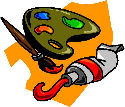 490x421 Clip Art Art Painting Clipart