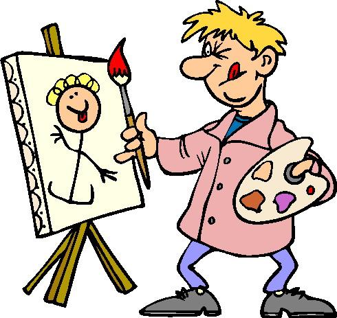490x463 Clip Art Art Painting Clipart