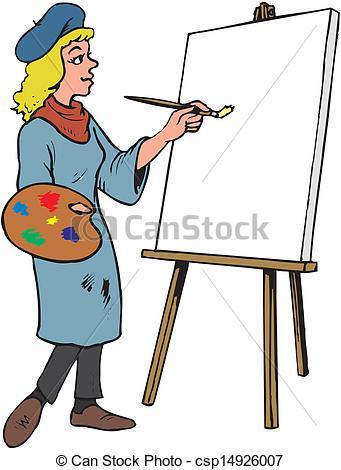 341x470 Female Artist Clip Art Cliparts